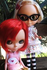 Kite's new glasses