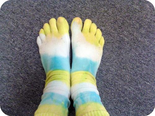 Toes socks are fun