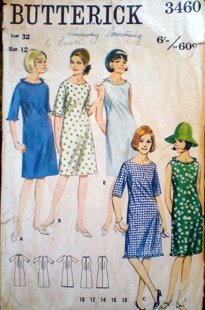 Butterick 3460 from 1965