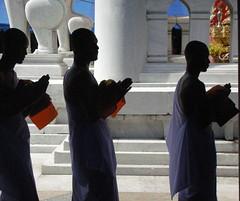 Ordination of Monks in Thailand, 2007 (MettaMomma) Tags: people orange white men asian thailand temple asia asians bangkok religion monk buddhism spirituality buddhists 5photosaday mywinners goldstaraward intheswirloffaith qualitypixels