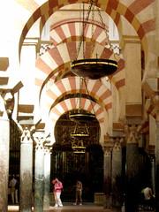 Arches (fushmush) Tags: spain cathedral mosque jess mezquita crdoba islamicarchitecture muslimarchitecture mezquitadecrdoba wilsoneurope