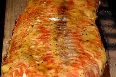 Salmon and Eggplant