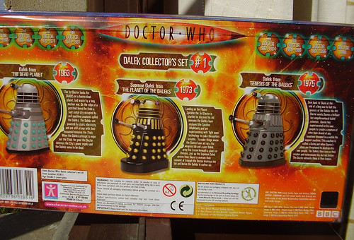 DALEK COLLECTOR'S SET [back]