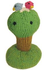 Lucky (Mochimochi Land) Tags: tree cute birds toy knit poop lucky amigurumi mochimochiland