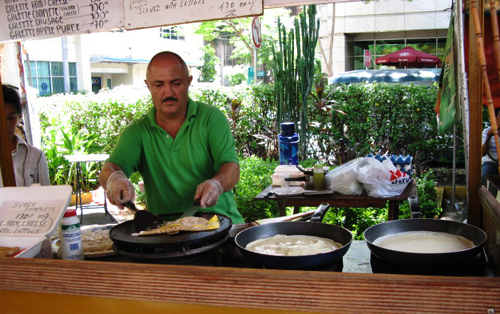 Salcedo Market - Creperie