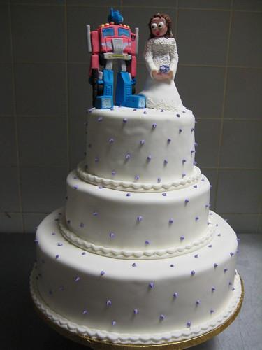 Transformers Wedding Cake