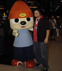 Parappa the Rapper and Dan Cole (ArenaNet) Tags: pax guildwars pax2007