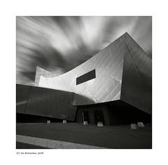 """Imperial War Museum"" (Ian Bramham) Tags: longexposure bw architecture manchester photo nikon explore imperialwarmuseum d40 ianbramham bw10stopndfilter welcomeuk"