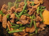 Stir Fry Pork with Red Curry Paste