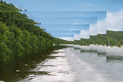 Infinity lake (DianneB 2007.) Tags: lake photoshop infinity manipulation