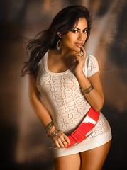 Hot latina sexy model
