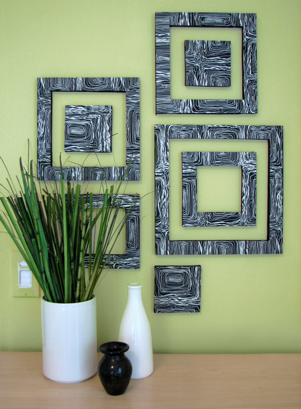 DIY: Patterned Wall Squares
