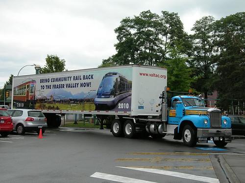 VALTAC Campaign truck