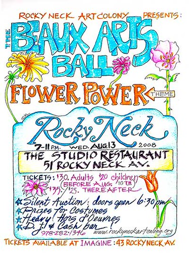 2008 Beaux Arts Ball Flyer