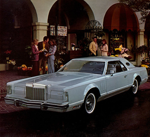 1977 Lincoln Continental Mark V Cartier