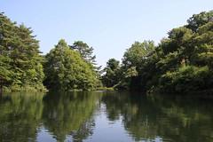 小野川湖の入り江