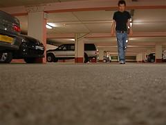 below (cielvanille18) Tags: street portrait underground lumière garage parking basement below homme updown masculin contreplongée soussol endessous audessus