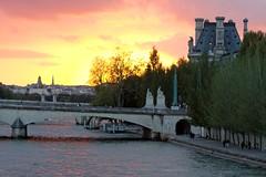Pont du Carrousel (jver64) Tags: paris france seine louvre pontducarrousel canon40d