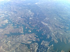 Sydney CDB from 7915 metres