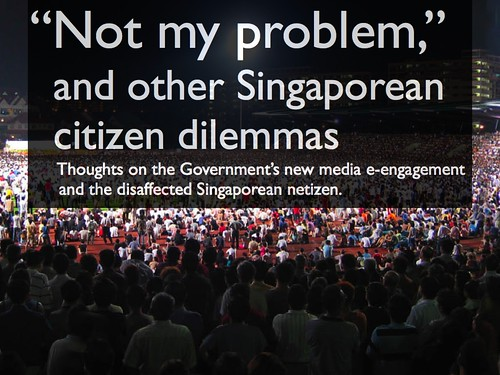 "theorycast.47 :: ""Not My Problem"" & other Singaporean citizen dilemmas"