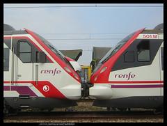 23/VII/2006. Civia I & II (Camineru) Tags: train tren railway asturias llanera alstom cercanias renfe asturies civia