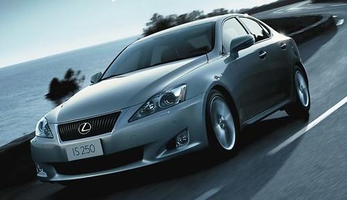 Фотографии нового Lexus IS250 2009