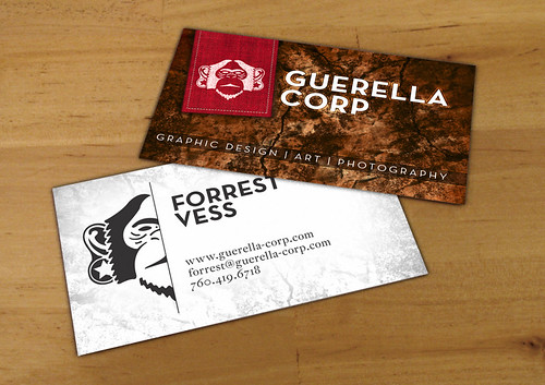 Guerella Corp Business Cards