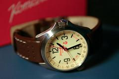 GMT watch (mr.scoff) Tags: wristwatch vostok komandirskie