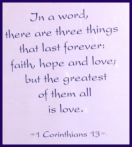 corinthians faith hope love quotes quotesgram