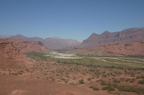 Quebrada de Cafayate - amazing scenery.