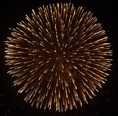 Red Power (milewski) Tags: light color colors japan sparkles asian star tokyo asia bright fireworks explosion sparkle shooting brightness sparkling explode hanabi hypnotic hypnotizing luminosity mesmerizing
