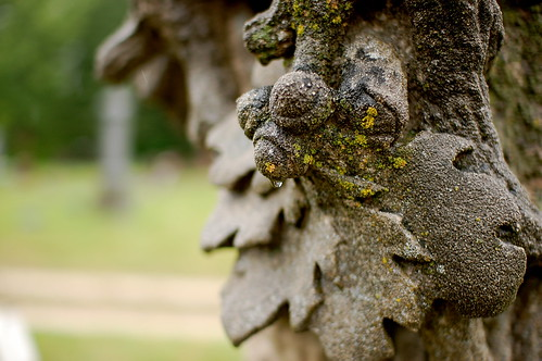 Grave Marker - Detail