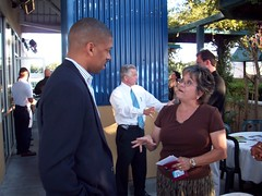 Natomas Chamber Mixer 9.18.08 (mayor kevin johnson) Tags: mixer chamber sacramento natomas kevinjohnson