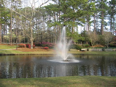 one of my favorite parks hugh mcrae wilmington, nc (jcsanders21) Tags: park fountain nc pond northcarolina wilmington hughmcraepark