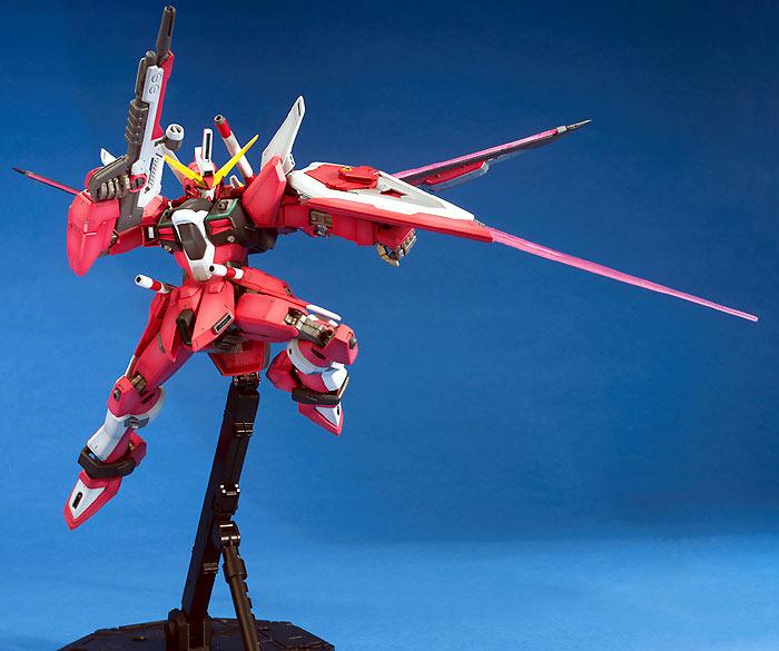 Ngee Khiong: MG Infinite Justice & HG 1/144 Cherudim Gundam