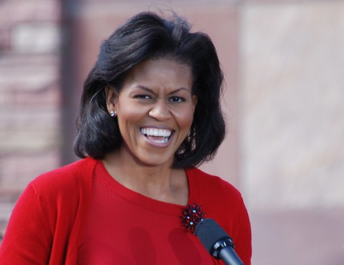 Michelle Obama in Boulder, Colorado
