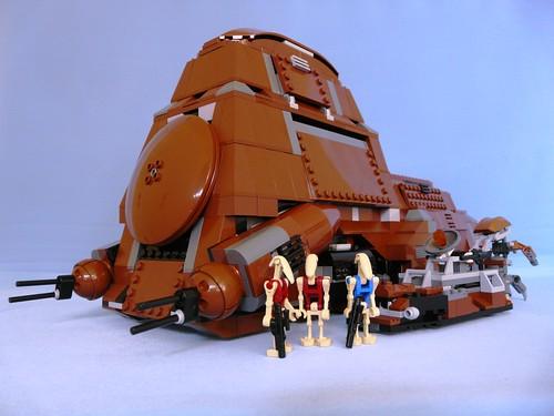 Star Wars Lego 7662 Trade Federation MTT 08 - a photo on