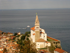 Pirano - Chiesa di San Giorgio (alberto_d) Tags: sea europa europe mare eu slovenia piran slovenija adriatic ue sangiorgio istria adriatico istra pirano istrien istrie svjurij hccity istroveneto