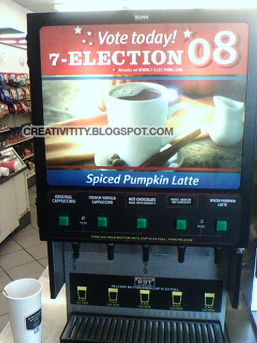 """7-Election"" Hot Chocolate machine"
