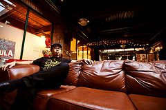 Lounging (Robho) Tags: leather couch sofa 5d 1635ii