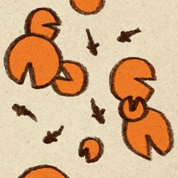 Orange Square Inch 3