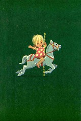 green horse (lorryx3) Tags: horse illustration vintage happy child scan enid childrensbooks blyton carasel