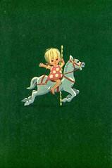 green horse (lorryx3) Tags: horse illustration vintage happy child scan enid childrensbooks blyton carasel