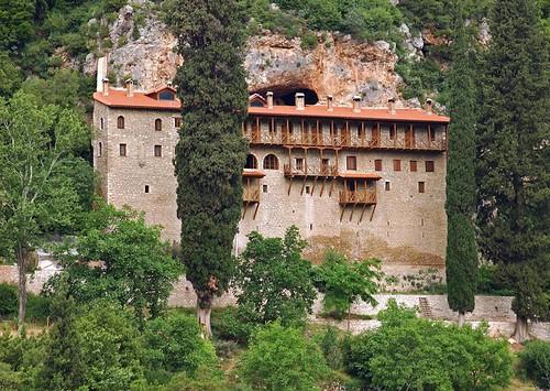 Chryssopodaritissa Monastery in Achaia