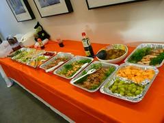 第4回鹿児島大学シリコンバレー研修ツアー  おいそうな夕食