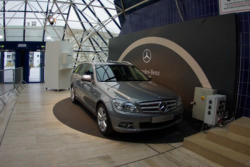 Mercedes Classe C 220 CDI - BNP Paribas Masters 1
