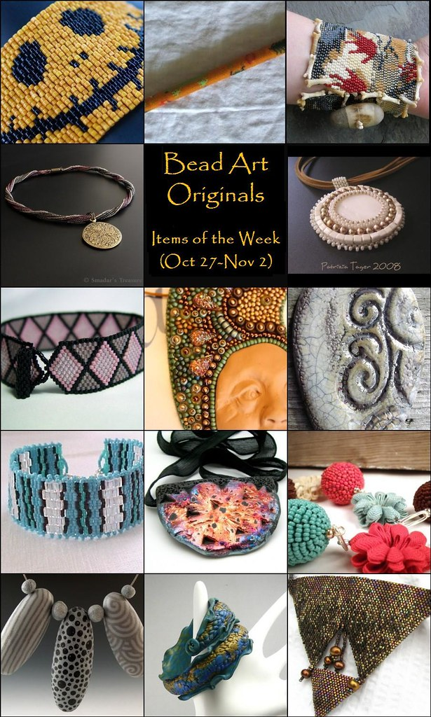 Bead Art Originals Items of the Week (Oct 27 - Nov 2)