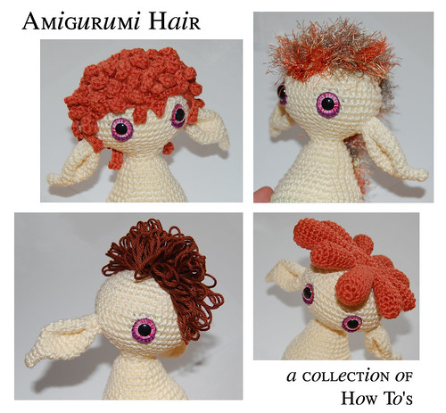 Crochet Doll Hair How To : ... alot of ways to create doll hair you can crochet every single hair at