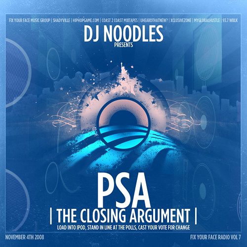 DJNoodles-PSA-VoteForChange-Cover-1-500 by you.