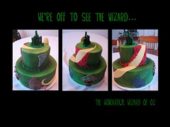 Wizard of Oz (alana_hodgson) Tags: castle cake poppies wizardofoz tornado emeraldcity appletree rubyslippers wickedwitch yellowbrickroad sweettreats
